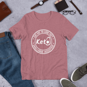Keto T-shirt Challenge Accepted!