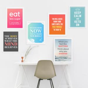 keto_motivational_prints_weightloss