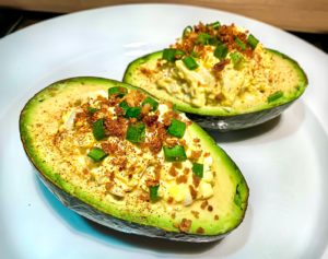 Keto Avocado Egg Salad