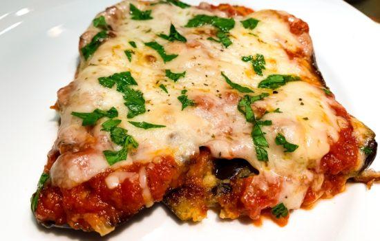 Keto Eggplant Parmesan Recipe